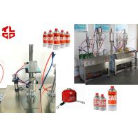 Quality LPG Gas Aerosol Filling Machines, Gas Lighters Refilling Machines Semi Automatic for sale