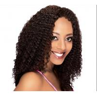 Quality Water Wave / Kinky Curl full lace wigs virgin hair 100% Brazilian Wig for sale
