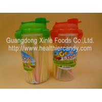 Quality Personalized Fruit Flavor CC Hard Candy Sticks Sweets In Cup OEM Available for sale