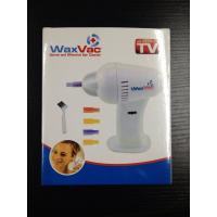 Quality ABS Waxvac Ear Wax Remover Vac Cleaner Safe Effective Silicone Tips for sale
