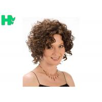 Quality Heat Resistant Synthetic No Lace Short Synthetic Wigs Soft  And Smooth Hair for sale