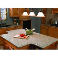 China White Kitchen Natural Granite Countertops Worktops 45 Degree Cutting on sale