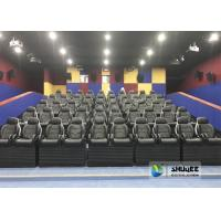 Quality Black 9D Movie Theater Dynamic Electric For Commercial Shopping Mall And Amusement Attraction for sale