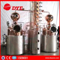 Buy 500L Manual Wine Alcohol Distiller Tower With Stainless Condenser at wholesale prices