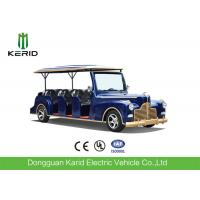 Quality New Arrival 11 Seater Electric Vintage Cart 4 Wheel Electric Vehicle for sale