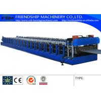 China Corrugated Sheet Roll Forming And C Z Purlin Roll Forming Machine For Steel Building on sale