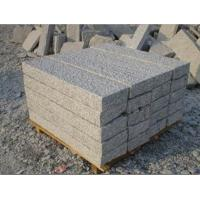 Quality White Curbstones, Light Granite Curbstone, Pineapple Granite Lanscaping Stone for sale