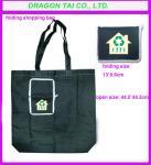 Quality Foldable nylon shopping Bag with zipper , folding nylon bags for sale