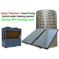 Quality Intelligent Solar Thermal Hybrid Water Heater Non Pressurized Water Tank for sale