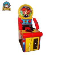 Buy cheap Relax Ticket Redemption Arcade Games Test Players Strength With Two Gloves from wholesalers