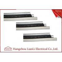 Grey / Black Galvanized SteelFlexible Electrical Conduit with PVC Coated