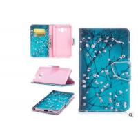 Quality Cherry Blossom Card Pocket Phone Case , Pu Leather Phone Cases For Huawei for sale