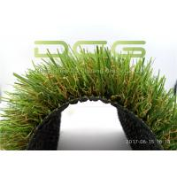 Quality Custom Outdoor Artificial Grass / Synthetic Grass Carpet Fire And UV Resistance for sale