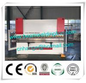 China WE67K -200T /4000 CNC Hydraulic Press Brake , Sheet Press Brake Bending Machine on sale