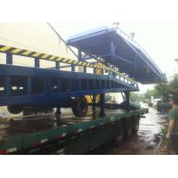 Quality Manual Hydraulic Mobile Loading Ramp 2300kg Weight Portable Forklift Ramp for sale