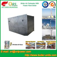 Quality 100 T Boiler Part Tubular Air Preheater / APH In Boiler Natural Circulation for sale