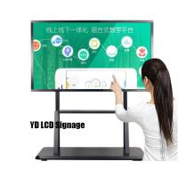 Quality 4K LG Panel LCD Interactive Digital Whiteboard For Meeting / Conference for sale
