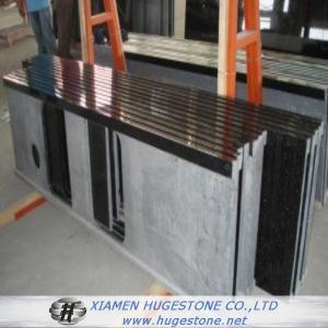 Quality Shanxi black polished granite Bar & Table Tops for sale