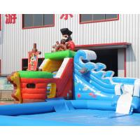 3 years warranty outdoor inflatable pirate ship water - Inflatable pirate ship swimming pool ...