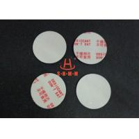 Buy Environmental Filmed Fiber Small Desiccant Packs 1.0mm Thickness , Circle Shaped at wholesale prices