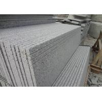 Quality Chinese Popular Sesame White Stone Porch Steps / Natural Stone Slab Steps for sale