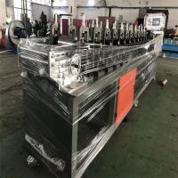 China 0.3-0.8mm Galvanzied Coils Stud And Track Roll Forming Machine 12m/Min on sale