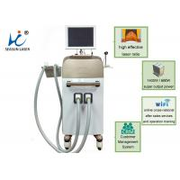 China One Shot 1 Session Vacuum Assisted Laser Hair Removal Device 810 Diode Suction on sale