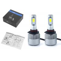 Quality 6500K Auto LED Headlamp Bulbs S2 9005 HB3 72W 8000LM COB Led Headlights For Cars for sale