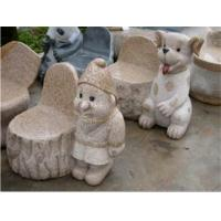 Quality Exquisite & Cute Small Stone Bench, Granite Stone Carving & Sculpture for sale