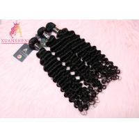 China Loose Deep Wave Hair Extension 10A Unprocessed Weaves Soft and Thick Texture on sale