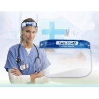 Quality Breathable Safety Dental Face Shield PET Material 32×22cm With Thick Sponge for sale