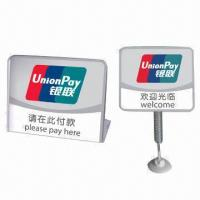 Buy cheap Acrylic Print/Billboard in Various Colors for Commercial Display Stand/Sign, from wholesalers