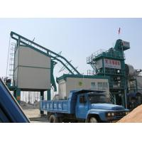 Quality 1000kg Mixer Capacity Asphalt Drum Mix Plant 25m 3 Filler Tank PLC Control System for sale