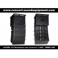 """Quality 480W Compact Double 8"""" Line Array Speaker For Installation , Church , Conference, Nightclub for sale"""