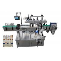 Quality 3PH Automatic Labeling Machine , 6000BPH Round Bottle Labeling Equipment for sale