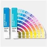 Quality Solid Coated / Uncoated Paper Paint Color Cards 2019 Pantone GP6102A Color Bridge Guide Set for sale