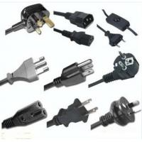 Quality UK power cord, European/Italian power cord, American power cord, Australian power cord for sale