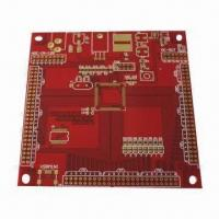 Quality Red Double-Sided PCB with Immersion Gold Surface for sale