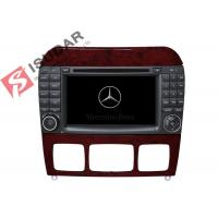 Quality 1024 * 600 HD 7 Inch Mercedes S Class Dvd Player , Mercedes Benz Car Stereo OBD Support for sale