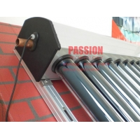 Quality Copper Pipe Solar Collector Heat Pipe Solar Panel Non Pressure Solar Collector Pressurized Glass Tube Geysers for sale