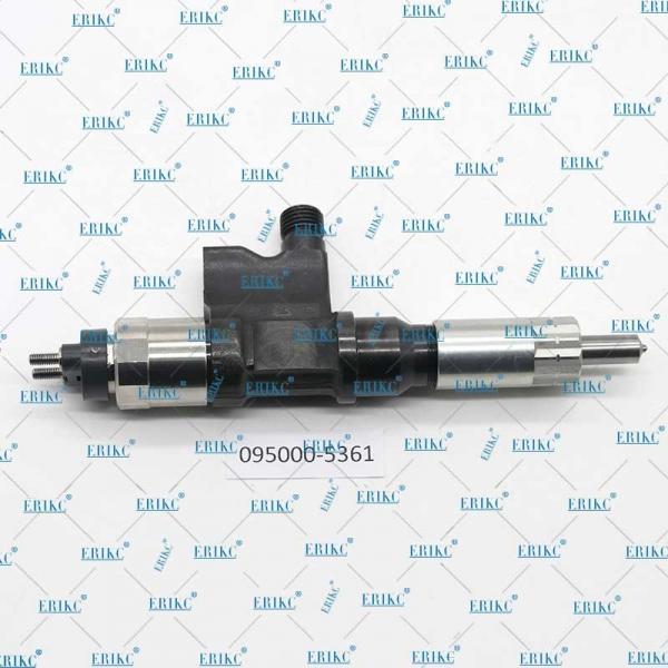 Buy common rail exchange injectors 095000-5361 Fuel Injector Diesel 095000 5361 0950005361 for diesel car at wholesale prices