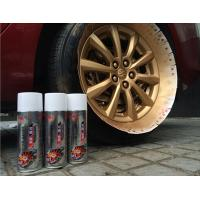 Buy Fluorescent / Luminous Removable Rubber Spray Paint With Liquid Coating at wholesale prices