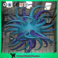 Quality 3M LED Lighting Inflatable Bend Star Giant Tentacle Star Event Decoration for sale