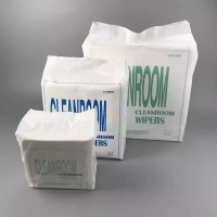 Quality Ultrasonic Wave Sealed Non Abrasive Class 1000 Cleanroom Wipes for sale