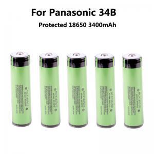 Quality Grade A original lithium battery 18650 for Panasonic 3400mAh NCR18650B for sale