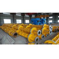 Quality Electric Prestressed Concrete Poles Welding technology Running Wheel for sale