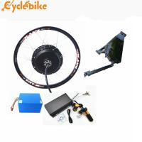 Buy cheap 72v 5kw rear motor Electric Bike Conversion kit  for enduro ebike  kit and motorcycle kit with lithium battery from wholesalers