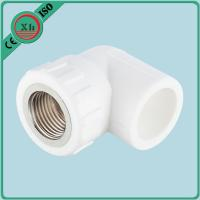 Quality Hexagonal Female PPR Elbow With Thread Recyclable Material Drinking Water Supply for sale