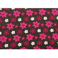 """Quality 100% Cotton Floral Corduroy Fabric Dressmaking Fabric Width 57"""" / 8"""" for sale"""