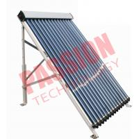 Quality 20 Tubes Anti Freezing U Pipe Solar Collector Aluminum Manifold For House for sale